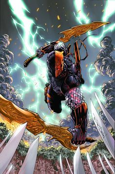 Deathstroke | #comics #dc #deathstroke
