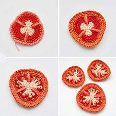Crochet Gloves Pattern, Crochet Motifs, Crochet Potholders, Crochet Toys Patterns, Amigurumi Patterns, Crochet Designs, Stuffed Toys Patterns, Crochet Stitches, Crochet Fruit
