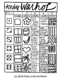 18 Trendy Andy Warhol Pop Art For Kids Projects Fun Andy Warhol Pop Art, Andy Warhol Drawings, Pop Art For Kids, Kids Fun, Art Sub Plans, Pop Art Drawing, Art Drawings, Art Worksheets, Ecole Art