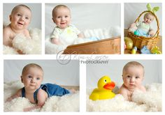 Baby Family Photography props | ... month Easter Portraits {Brookings, Oregon Baby Portrait Photographer
