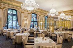 Restaurant Le Lobby du Peninsula.