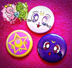 Sailor Moon PIN PACK by hellyeahsweetnsour on Etsy