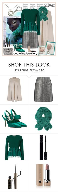 """""""LeofwineJewellery - Silver (2)"""" by carola-corana ❤ liked on Polyvore featuring Thierry Mugler, N°21, Gucci, 100% Pure, Marc Jacobs, handmadejewellery and liudaka"""