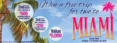 win great prizes from Trade Secrets, Glamour Secrets here>>>Trade Secrets Contest: Win Trip for 2 to Miami & Gift Cards