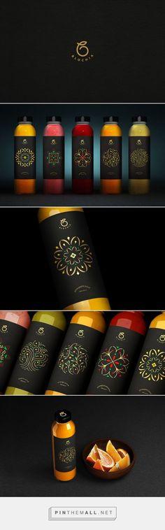 BLOCHIA Fresh Juice Packaging by Sabeti Studio