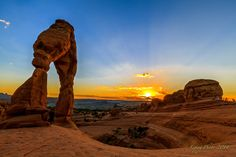 Delicate Arch sunset by Liping Yu on 500px