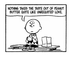 I hear that, Charlie Brown...