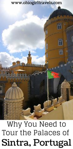 Sintra is a beautiful town in Portugal with rich history from hosting royal families. The castles we saw in Sintra were some of our favorite in Europe! Click to find out what places to see in Sintra, transportation, castles, gardens, and palaces in Sintra. You'll definitely want to save this Sintra guide to your travel board!