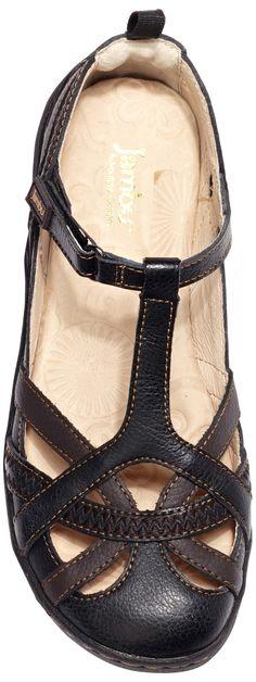 Jambu Charley women's sandals (Black Earth)