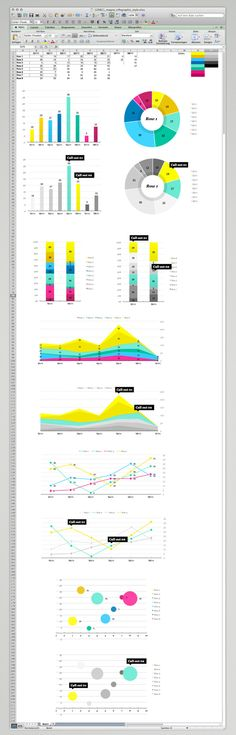 MagnaGlobal Infographic Excel Template by Bureau Oberhaeuser, via Behance