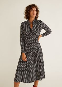 b9a4a088730 Sukienka z kwiatowym wzorem Robes Midi
