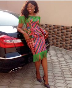 See these latest Ankara Styles - Wedding Digest Naija African Fashion Designers, African Print Fashion, Africa Fashion, Trendy Ankara Styles, Kente Styles, African Print Dresses, African Fashion Dresses, Fashion Outfits, African Clothes