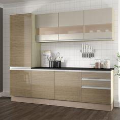 Que tal ter a sua #cozinha com um estilo mais clássico e com um tom retrô? <3 #Prod147545