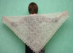 Ravelry: First flowers pattern by Anna Perevezentseva - free pattern, Orenburg style