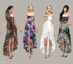 Lana CC Finds - Goddess Dress by marigold