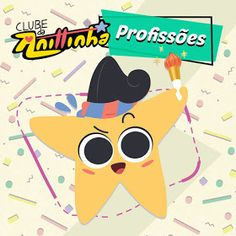 "Anittinha – Profissões (De ""Clube da Anittinha"") – Single Pikachu, Fictional Characters, Printable Planner Stickers, Club, Fantasy Characters"