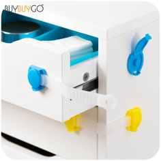 Cabinet Lock Fridge Door Locks Candy Color Plastic Locks Prop Safe C8 Other Baby Safety & Health Baby Safety & Health