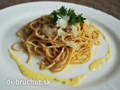 Fotorecept: Špagety carbonara