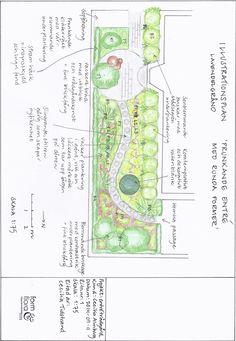 Cecilia Tidstrand, www. Garden Design Plans, Garden Journal, Garden Styles, Garden Landscaping, Outdoor Spaces, Landscapes, Designers, Sketches, Yard