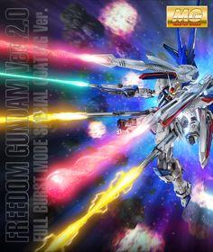 P-Bandai MG 1/100 FREEDOM GUNDAM Ver.2.0 FULL BURST MODE SPECIAL COATING Ver. : Full Official Images, Info Release http://www.gunjap.net/site/?p=297733