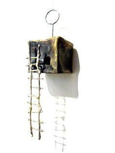 Brass House Necklace/Pendant ~ HiNGE Dept. Accessory