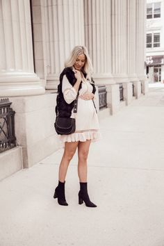 Crochet Dress Spring Fashion @kyliecallander
