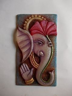 3d mural art rajasthani face mural - Google Search
