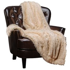Chanasya Super Soft Long Shaggy Chic Fuzzy Fur Faux Fur Warm Elegant Cozy With Fluffy Sherpa Off White Microfiber Throw Blanket Faux Fur Blanket, Faux Fur Throw, Faux Fur Bedding, Cool Comforters, Luxury Throws, Cooling Blanket, Weighted Blanket, Blanket Sizes, Shopping