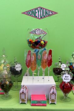 Festa Infantil Harry Potter - honeydukes
