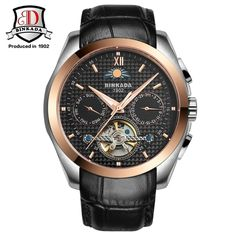 39bc1c0f76b 66.22  Buy here - 2017 Fashion Luxury Brand BINKADA Tourbillon Watch  Automatic Men Wristwatch Sapphire Mechanical Steel Watches Relogio Masculino
