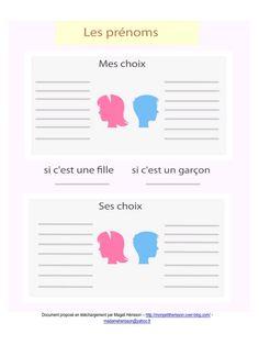 A insérer dans son agenda ou carnet de grossesse : vos et ses choix de prénoms pour votre futur enfant ! #bulletjournal #printable #pregnancy #grossesse #bujo