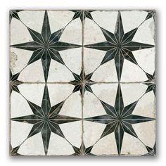 Heritage Star | Patterned Tiles | Porcelain Superstore