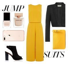 """Graphic"" by veureka on Polyvore featuring Yves Saint Laurent, Maison Margiela, Context, Narciso Rodriguez and jumpsuits"
