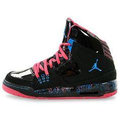 http://Amazon.com: Nike Air Jordan SC-1 (GS) Girls Basketball Shoes 439655-009: Shoes #Dope :-)
