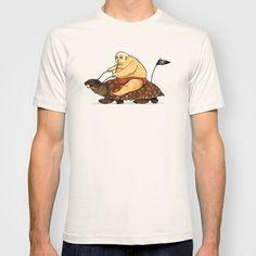 Lazy Tarzan T-shirt by Juan Weiss - $18.00