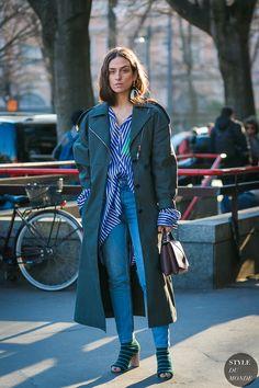 Fashionable Street Style by Erika Boldrin