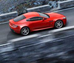 The Aston Martin Vantage Range  V-8 coup