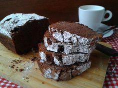 Plumcake+senza+glutine+con+cioccolato+e+arancia