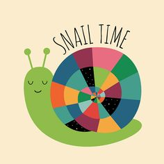 Snail Time on Behance