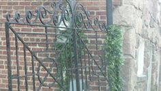 J Beard-always knew there was a gate but never really stopped to look at iron work. It's beautiful