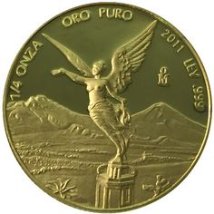 2011 1/4 oz Proof Mexican Gold Libertad Coins from JM Bullion™