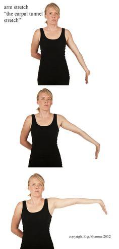 Median nerve stretch