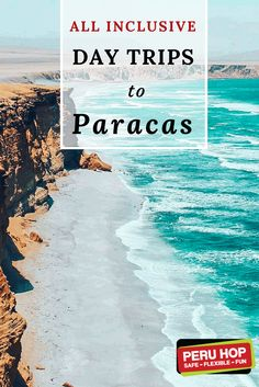 """Peru Travel Tips   Day Trips To Paracas   Paracas National Reserve scape from Lima with Peru Hop and discover the sunny beach town of Paracas with our award-winning selection of day trips Paracas from Lima. Explore Peru's biggest protected desert reserve, the Paracas National Reserve, and the Ballestas Islands, known as the """"Poor Man's Galapagos"""" www.peruhop.com"""