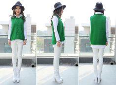 High fashion knit vest - Google Search