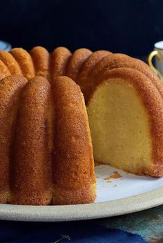 Caribbean Rum Cake Recipe by King Arthur Flour Food Cakes, Cupcake Cakes, Wine Cakes, Cupcakes, Bundt Cakes, Pastel Envinado, Caribbean Rum Cake, Carribean Desserts, Cake Recipes