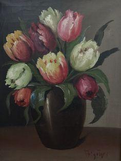Floral Paintings, Art, Craft Art, Kunst, Art Education, Sanat