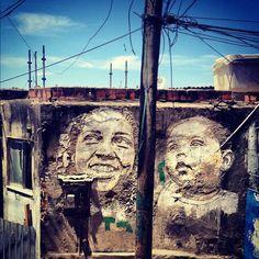 Vhils VHILS  #Art #StreetArt #vhils