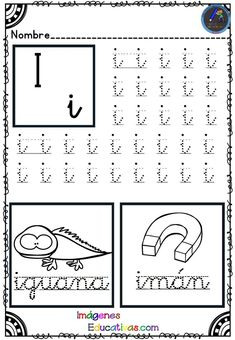Cursive Handwriting, Handwriting Worksheets, Letter Worksheets, Preschool Worksheets, Kindergarten Prep, Baby Learning, Filofax, Homeschool, Classroom