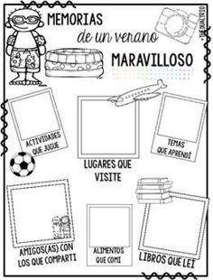 This will make a great beginning activity for my Spanish class! Dual Language Classroom, Bilingual Classroom, Bilingual Education, Spanish Classroom, Spanish Teaching Resources, Spanish Activities, Spanish Lessons, Learn Spanish, Spanish Worksheets