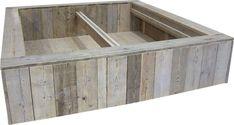 Vinyl Steigerhout Look : Ombouw maken voor een tweepersoons bed van steigerhout doe het